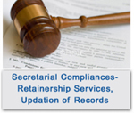 Secretarial Compliances: Retainership Services, Updation Of Services